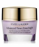 Estee Lauder Advanced Time Zone Night Age Reversing Line / Wrinkle Creme... - $65.50