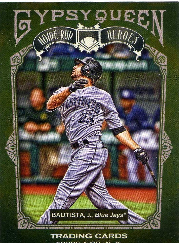 Topps Gypsy Queen Home Run Heroes Jose Bautista Blue Jays