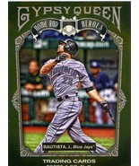 Topps Gypsy Queen Home Run Heroes Jose Bautista Blue Jays - $1.75