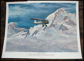 Vintage C Hubbell First Across the Andes Laura ... - $14.99
