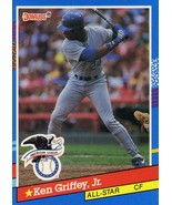1991 Donruss Ken Griffey, Jr All-Star card Seattle Mariners - $1.75