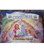 The First Christmas Pop-Up Book  8 X 10 inches - $7.99