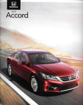 2014 Honda ACCORD brochure catalog 1st Edition US 14 EX V6 HYBRID Plug-In - $6.00
