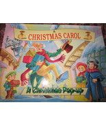A Christmas Carol Pop-Up Book  8 x 10 inches - $7.99