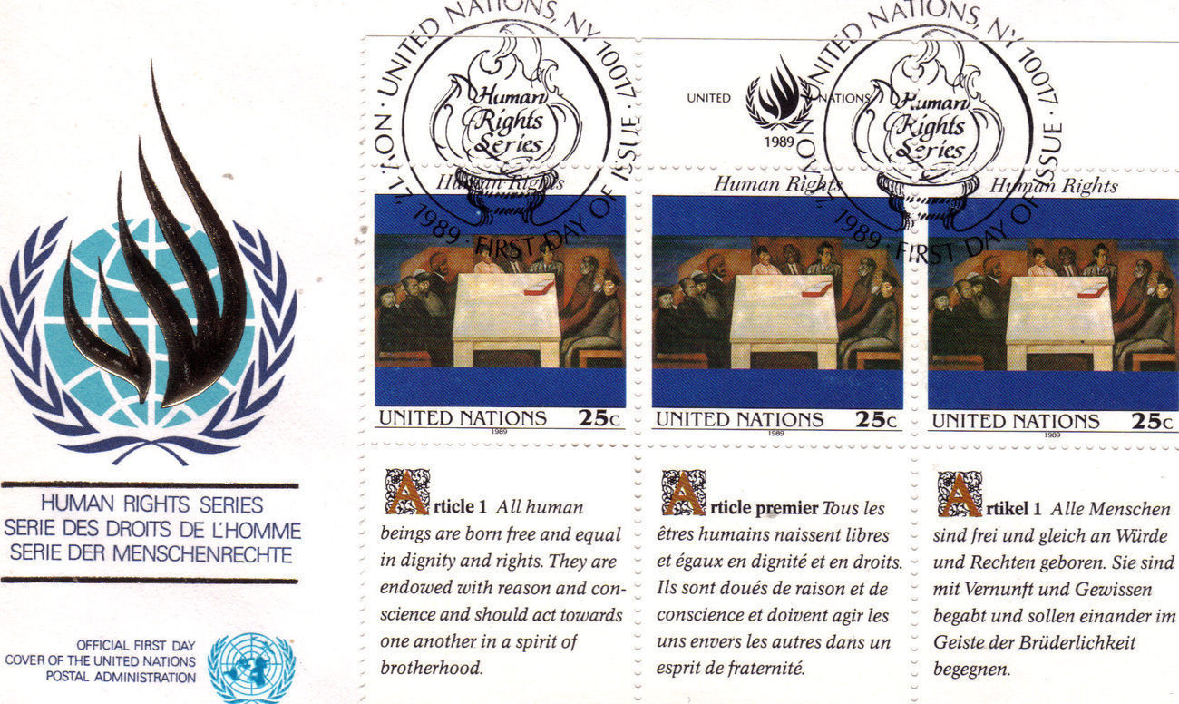 1st day issue un