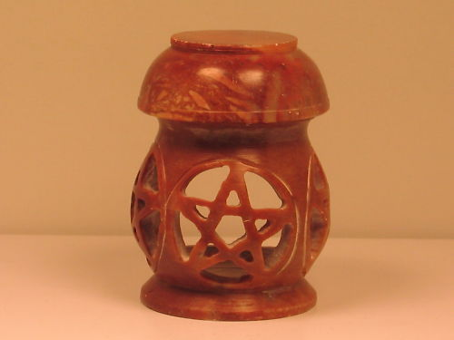 Soapstone Pentacle Oil Diffuser