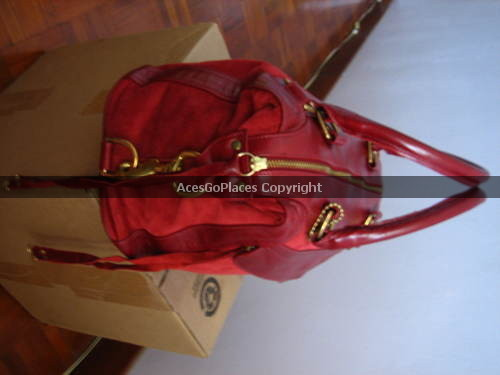 **NWT** Rebecca Minkoff Morning After Bag in Wine/Burgundy