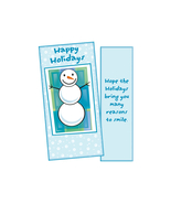 Many Reasons To Smile ~ Christmas Holiday Gift Card or Money Holder - $4.75