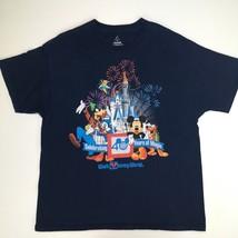 Walt Disney World Mens XL Multi Colored 40 years of Magic T Shirt - $10.89