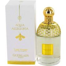 Guerlain  Aqua Allegoria Tiare Mimosa Perfume 4.2 Oz Eau De Toilette Spray image 5