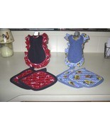 old time dish soap apron set - $10.00