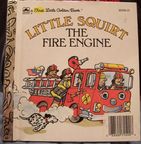 Dump Truck Fire Engine Bambi Words First Little Golden Books