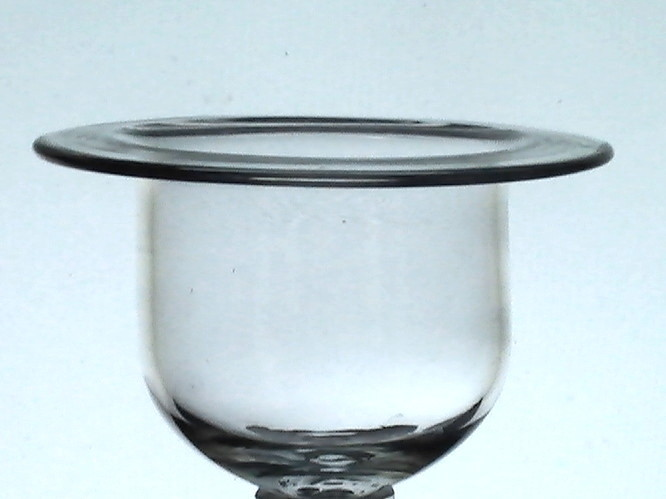Hanging candle holder cup flat wide rim x 3 candle for Flat candle holders