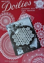 Doilies Book 147 Spool Cotton 1947 Crochet Sets  - $9.95