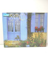 Parker Brothers Blue Doors France Countryside 300 Piece Guild Jigsaw Puz... - $17.81
