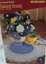 **SOUTH MAID**CROCHETED DOILIES/ ROSES**FIRST EDITION - $6.95