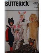 Animal Costume pattern 6815 sz 5,6,6X Wild Cats, Bunny - $6.99
