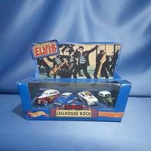 Hot Wheels Starring Elvis Jailhouse Rock 4PC Set by Mattel - $34.00