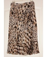 Ladies Animal Print Skirt Size Large Nice!  - $9.95