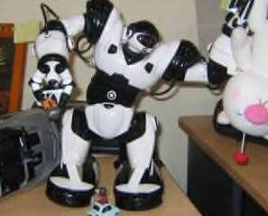 """WowWee RC RoboSapien with Remote and Manual  BIG 13.5"""""""