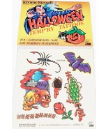 Jerome Russell Halloween Temporary Tattoos Bat ... - $3.49