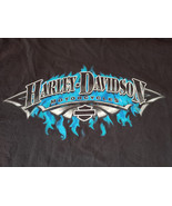 Official C&A Harley-Davidson PLAIN CITY, OHIO T-Shirt XL 2-Sided - S02 - $13.55