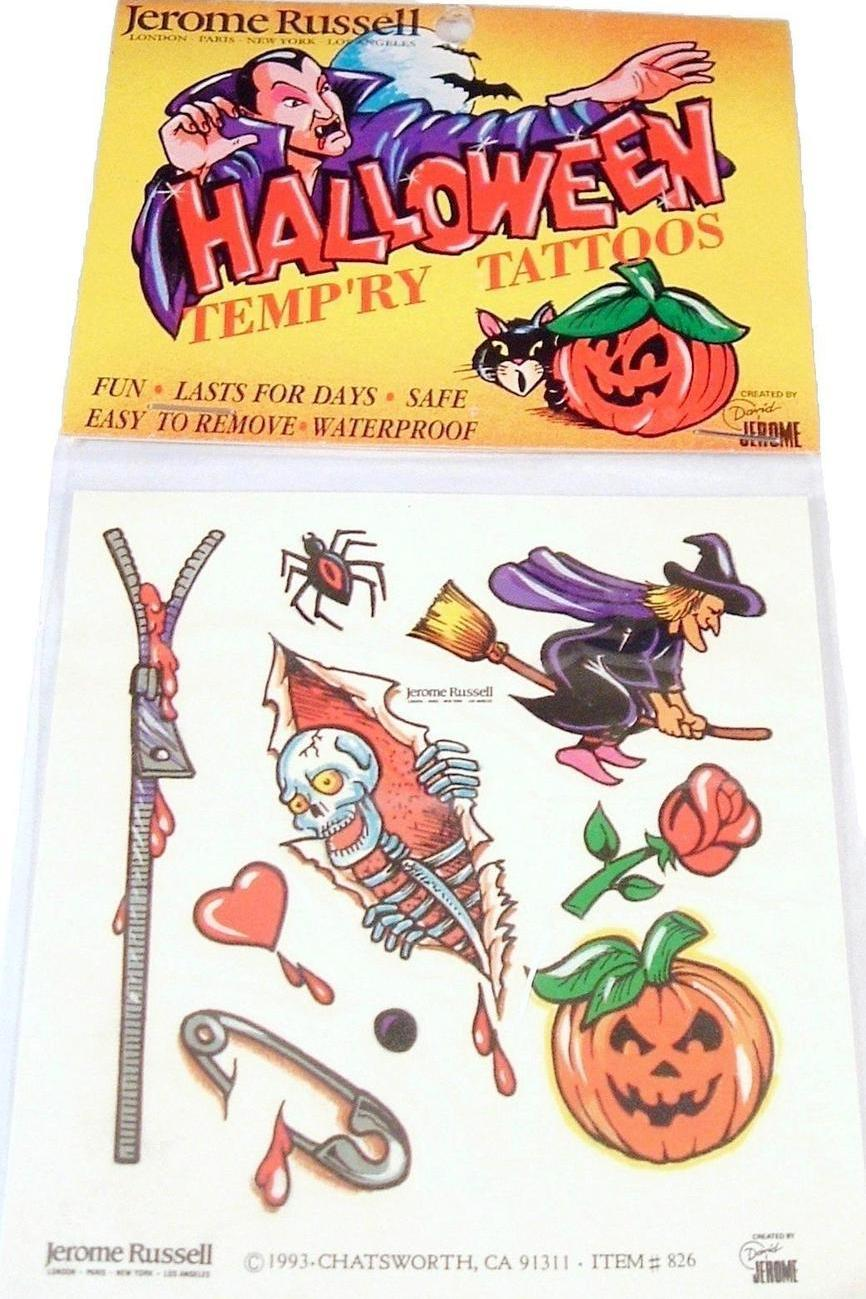 Halloween tattoos 2