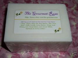 1 lb ORGANIC VEGAN SOY MILK Melt and Pour Soymilk 100% All Natural Soap Base - $5.95