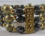 Magnetic hematite fashion bracelet 1 thumb155 crop