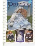 Pretty Girls - Decorating with Wood Block Dolls Vol. II - $9.95