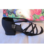 Mootsies Tootsies Strappy Heels Sandals Silky B... - $15.00