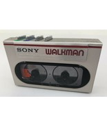 1983 Red Trim Sony WM-10 Cassette Walkman Not Working For PARTS - $197.99