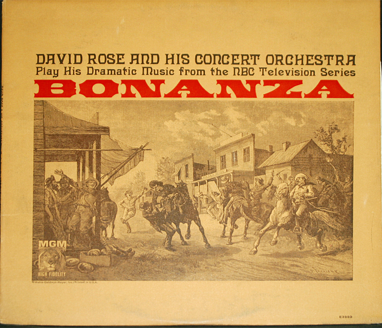David rose bonanza cover