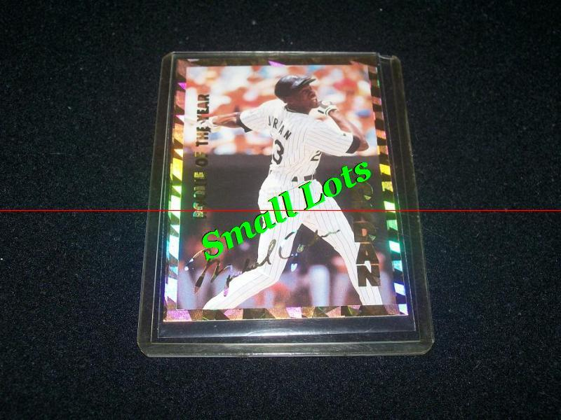Primary image for Michael Jordan Baseball Card 1994 Stadium Sports #69