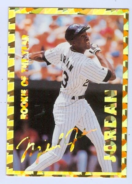 Michael Jordan Baseball Card 1994 Stadium Sports #69
