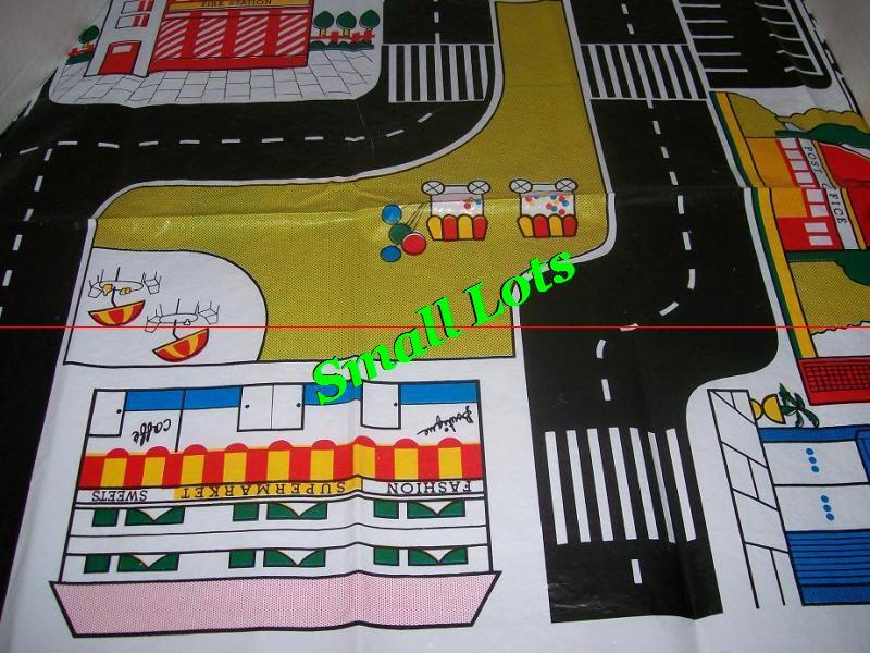 CITY DRIVING MAP  3' X 4' GREAT FOR DIE CAST CAR PLAYING