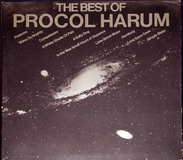 Procol harum the best of cover