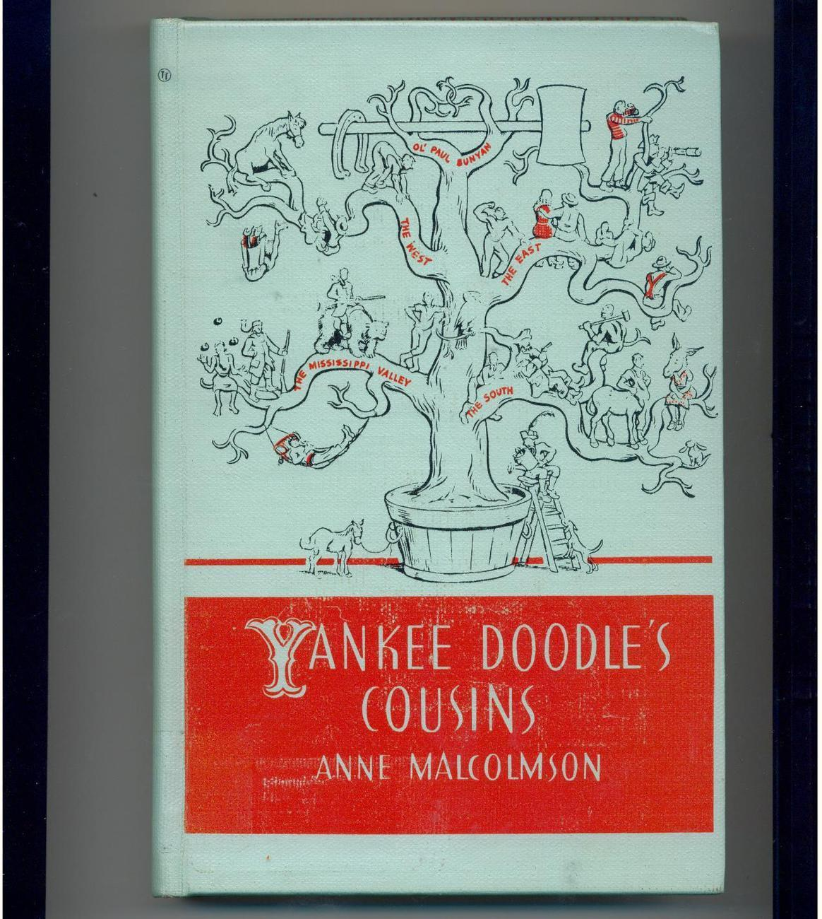 YANKEE DOODLE'S COUSINS - 1941 - tales of folk heroes