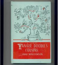 YANKEE DOODLE'S COUSINS - 1941 - tales of folk heroes - $6.00