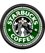 Starbucks Coffee Latte Espresso Shop Stand Drive Through Cafe Sign Wall ... - $21.12