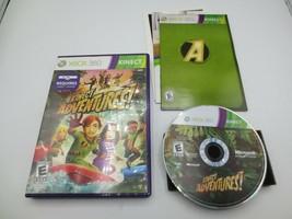 Kinect Adventures! (Microsoft Xbox 360, 2011)  Complete in Box - CIB - $4.99