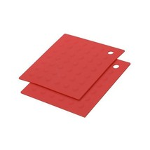MIU France Set of 2 Silicone Pot Holders, Red - $15.00