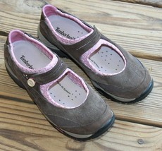 Timberland Size 8.5 56693 Mary Jane Shoes Vibram Agile IQ Comfy Brown & Pink - $20.18