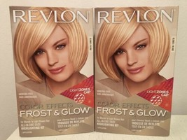 Lot 2x REVLON Colorsilk Color Effects Frost & Glow Blonde Easy Highlighting Kit - $39.59