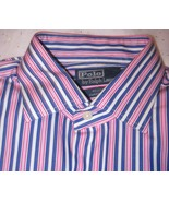 Ralph Lauren Mens Long Sleeve Shirt Size Large 16 1/2 34-35 - $25.95
