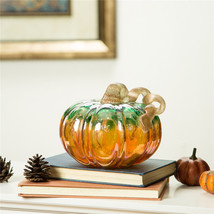 """7.09"""" Glass Pumpkin for home decor - $58.88"""