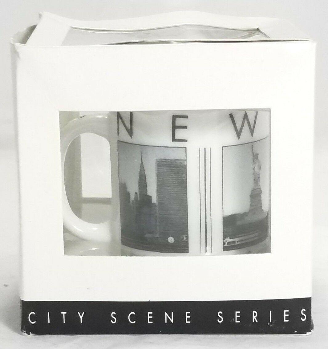 STARBUCKS MUG LARGE CERAMIC  MIAMI City Scenes Series,18 oz 2005 Barista