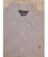 Ralph Lauren Mens Long Sleeve Shirt Size 15 / 32-33 - $25.95
