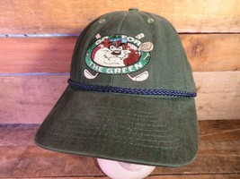 TAZ Go For The Green Gold Looney Tunes Warner Adjustable Hat Adult Cap - $3.95