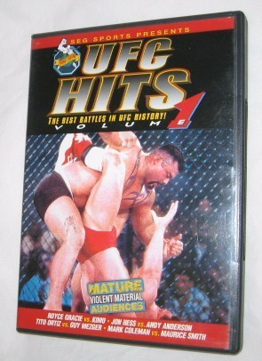 Primary image for UFC Hits - Volume 1 DVD, 2000 Royce Gracie & Kimo + More FREE SHIPPING U.S.A.